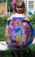 Harper with her Color Mandala