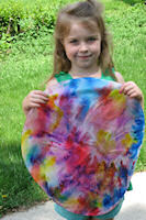 Rylee with her Color Mandala